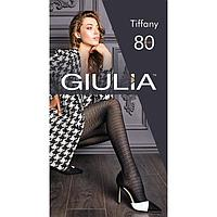 Колготки женские GIULIA TIFFANY 80 ден, цвет чёрный (nero), размер 3 (M)