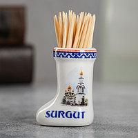 Сувенир для зубочисток в форме валенка 'Сургут'