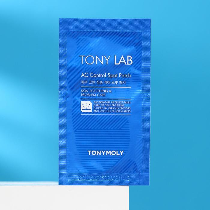 Патчи для проблемной кожи лица TONYMOLY Tony Lab AC Control Spot Patch - фото 1