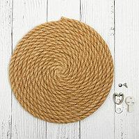 Основа для творчества и декорирования 'Круг из верёвки' D 15 см, крепление