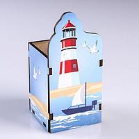 Подставка для карандашей 'Маяк' лодка