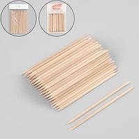 Апельсиновые палочки для маникюра, 11,4 см, 100 шт