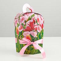 Подарочная коробка 'Букет любви', сборная, 19 х 8,5 х 10 см (комплект из 10 шт.)