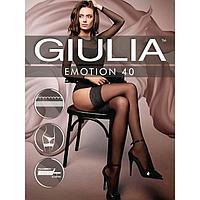 Чулки женские GIULIA EMOTION 40, цвет чёрный (nero), размер 3-4 (M-L)