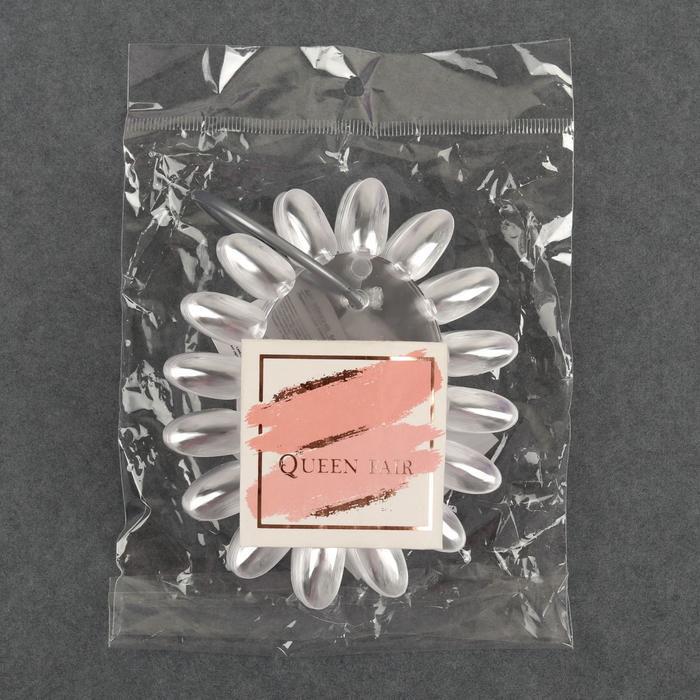 Палитра для лаков 'Овал', 10 шт по 16 ногтей, цвет прозрачный - фото 3
