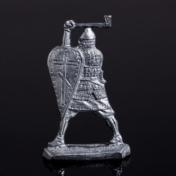 Оловянный солдатик 'Ратник с топором' - фото 3