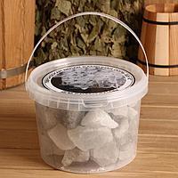 Персидская белоснежная соль 'Добропаровъ', галька, 50-120мм, 3,5 кг