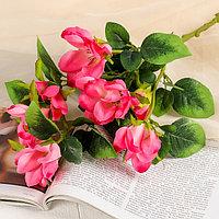 Цветы искусственные 'Магнолия' 5*56 см, розовая