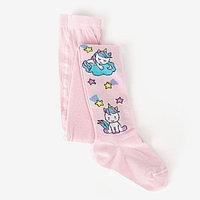 Колготки для девочки, цвет светло-розовый, рост 104-110 см