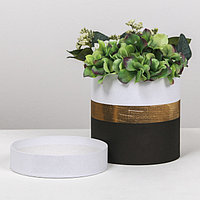 Подарочная коробка круглая 'Пантон 04', 15 x 15 см