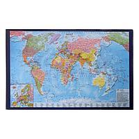 Покрытие настольное 38 x 59 см, Calligrata, 'Карта мира'
