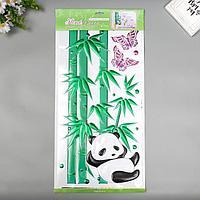 Декоративные наклейки Home Decor 'Панда' 30х60 см