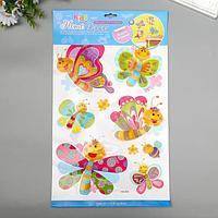 Декоративные наклейки Home Decor 'Весёлые бабочки' 29х41 см