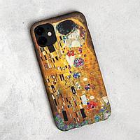 Чехол для телефона iPhone 11 'Поцелуй', 7,6 х 15,1 см