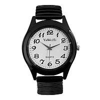 Часы наручные женские, браслет 'резинка' МИКС