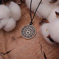 Талисман из ювелирной бронзы 'Знак зодиака' телец