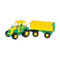 Трактор 'Мастер', с прицепом 1, цвета МИКС