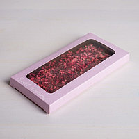 Коробка для шоколада Sweet dreams, с окном, 17,3 x 8,8 x 1,5 см (комплект из 5 шт.)