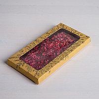 Коробка для шоколада Pleasure, с окном, 17,3 x 8,8 x 1,5 см (комплект из 5 шт.)