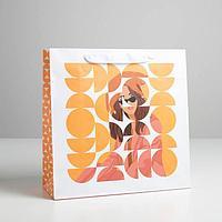 Пакет ламинированный квадратный Life style, 30 x 30 x 12 см (комплект из 3 шт.)