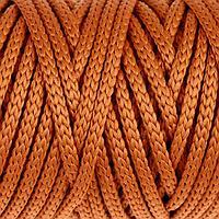 Шнур для рукоделия полиэфирный 4 мм, 50м/110гр (песочный)