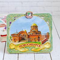 Панно 'Новосибирск' (с подвесом и подставкой)