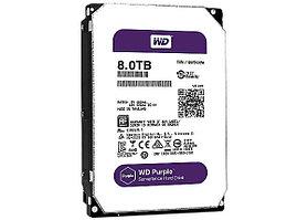 Жесткий диск для видеонаблюдения 8Tb Western Digital Purple WD82PURZ