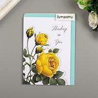 Поздравительная открытка и конверт American Crafts 'Rose Birthday'