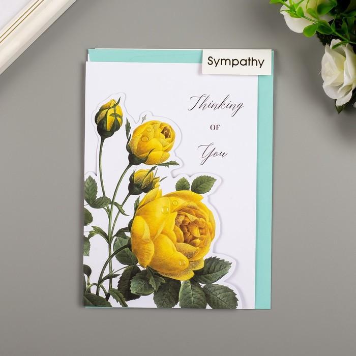 Поздравительная открытка и конверт American Crafts 'Rose Birthday' - фото 1