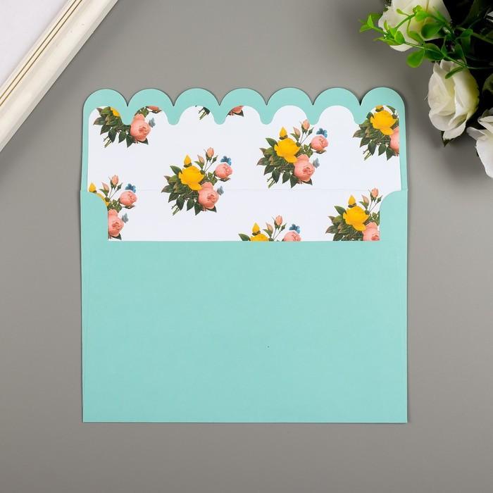 Поздравительная открытка и конверт American Crafts 'Rose Birthday' - фото 7
