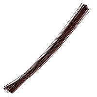 Набор проволоки для флористики d-1,20мм, 60 см, 50шт, коричневый