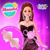 Кукла-модель шарнирная 'Моника' в наборе повязка для девочки