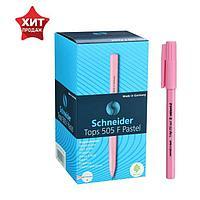 Ручка шариковая Schneider Tops 505 F узел 0,8мм, корпус пастель микс, синяя 150520 (комплект из 50 шт.)