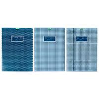 Тетрадь А4, 80 листов в клетку Classic, обложка мелованный картон, блок офсет, МИКС (комплект из 3 шт.)