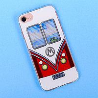 Чехол для телефона iPhone 7 с рельефным нанесением Free, 6.5 x 14 см