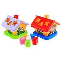Развивающая игрушка 'Садовый домик' с сортером, цвета МИКС