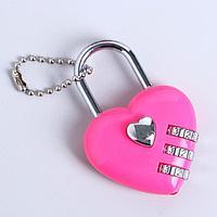Прикол-шокер 'Сердце с замочком', фонарик, цвета МИКС (комплект из 24 шт.)
