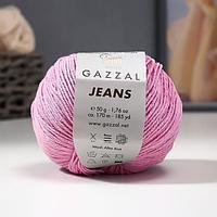 Пряжа 'Jeans-GZ' 58 хлопок, 42 акрил 170м/50гр (1104) (комплект из 2 шт.)