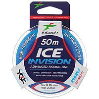 Леска Intech Invision Ice Line 0,16, 50 м