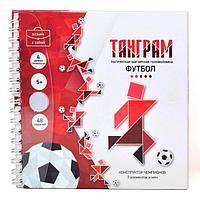 Магнитная головоломка 'Танграм. Футбол'
