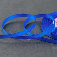 Лента репсовая, 6 мм, 23 ± 1 м, цвет синий 40