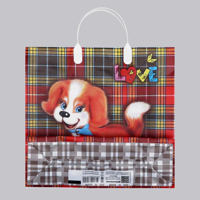 Пакет 'Дружок', мягкий пластик, 30 х 30 см, 150 мкм (комплект из 10 шт.) - фото 3