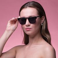 Очки солнцезащитные 'Мастер К.', uv 400, 14х14х4.5 см, линза 4.5х5 см, зеркальные