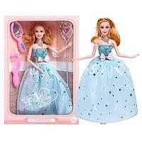 Кукла-модель шарнирная 'Анна' в платье, с аксессуарами, МИКС