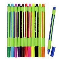 Ручка капиллярная Schneider Line-Up 0.4 мм, 12 цветов, 120 штук в дисплее SiS (комплект из 120 шт.)