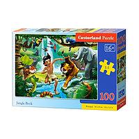 Пазл 100 элементов 'Книга джунглей'