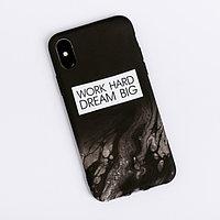 Чехол для телефона iPhone X/XS Dream big, 14.5 x 7 см