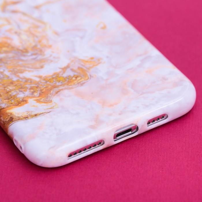 Чехол для телефона iPhone XS MAX 'Мрамор', 16 x 8 см - фото 2