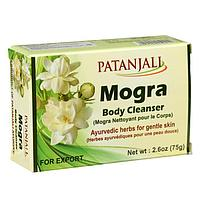 Мыло аюрведическое травяное Patanjali 'Могра', 75 г