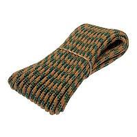 Шнур плетёный 24-х прядный ПП, d8 мм, 20 м, цвет МИКС